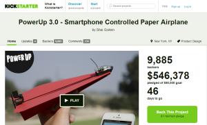 PowerUp 3.0   Smartphone Controlled Paper Airplane by Shai Goitein — Kickstarter